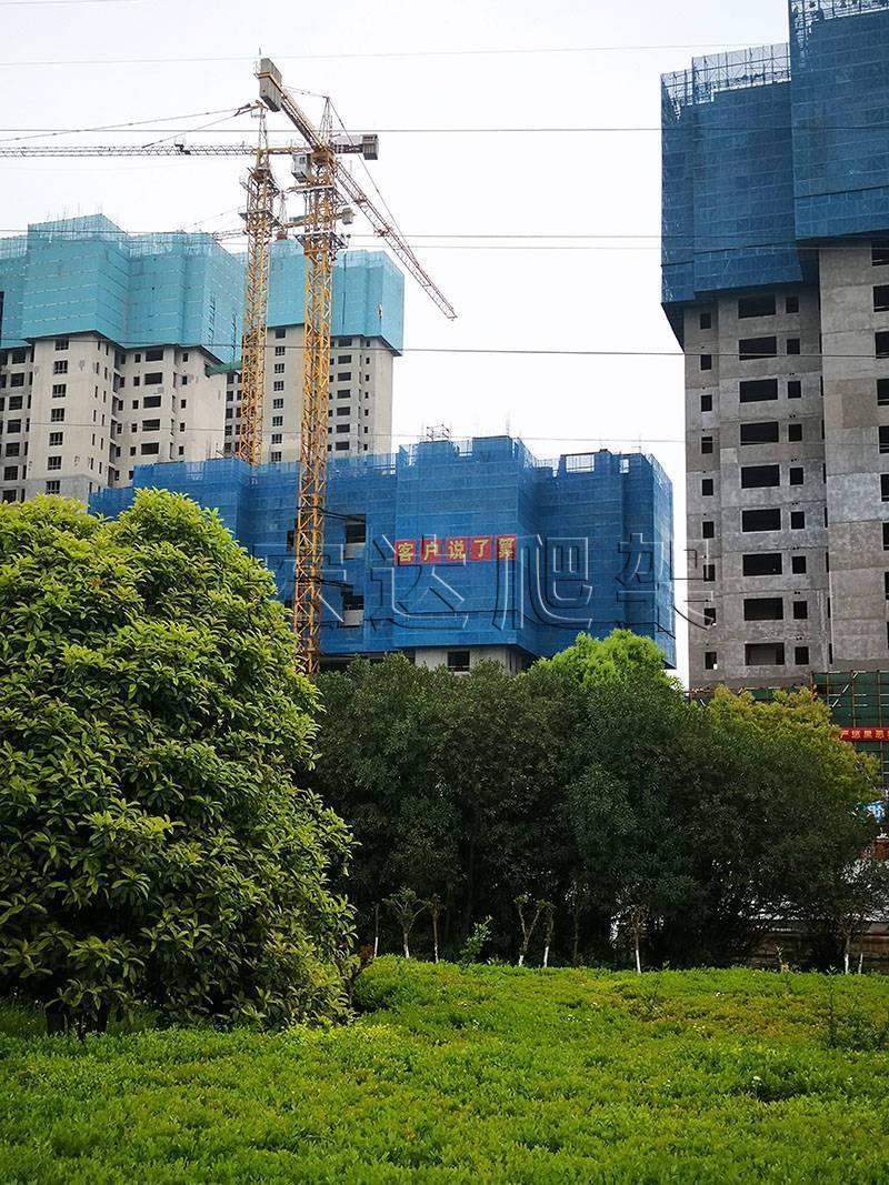 智能、低碳的建筑爬架