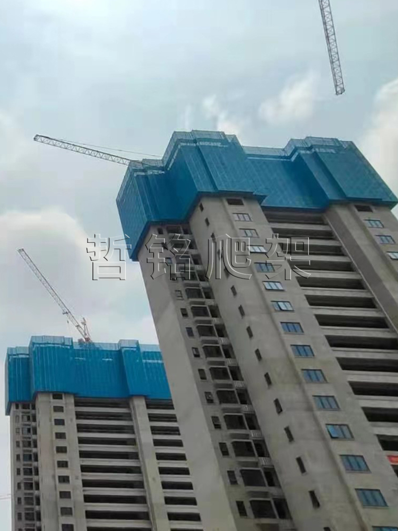 新型建筑爬架