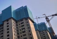建筑爬架安全网怎么去固定支杆落点