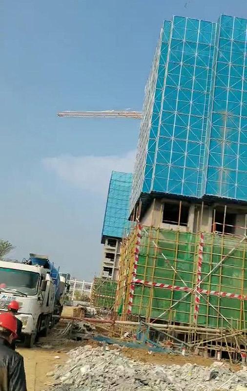 建筑爬架网片的焊接以及生锈问题的处理